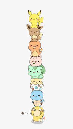 Pokemon cartoon PNG and Clipart Cute Pokemon Wallpaper, Cartoon Wallpaper Iphone, Cute Disney Wallpaper, Kawaii Wallpaper, Cute Cartoon Wallpapers, Eevee Wallpaper, Pikachu Art, O Pokemon, Cute Pikachu