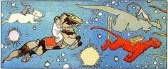 Little Nemo by Winsor McKay - Early 20th century comics with a similar good palette.