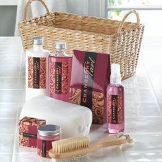 Cranberry Tart Spa Set *** Continue to the product at the image link.