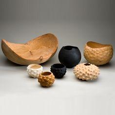 Medium Carved Cedar Bowl from National Trust
