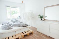 Eurolava-sänky / Pallet bed ideas