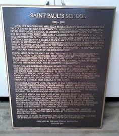 Marker tells the story of former St. Paul's school in Olde Towne.