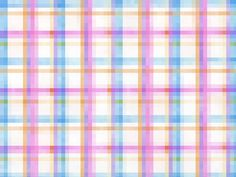 pixelated plaid