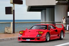 On the road to Nirvana Starring: Ferrari F40 (by Alexandre Prévot)