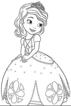plantillas para colorear tamaño a4 princesas - Buscar con Google