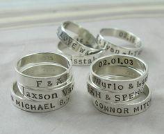 Original Style Posey Ring - message jewelry - KathrynRiechert