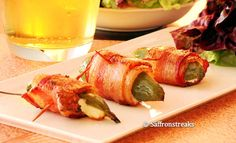 Bacon-Wrapped Jalapenos. Just 3 ingredients and so good!
