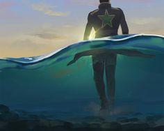 Jotaro Kujo - Part 6 Jojo's Bizarre Adventure, Drops In The Ocean, Jojo Parts, Fanart, Jotaro Kujo, Jojo Memes, Best Waifu, True Art, Foo Fighters