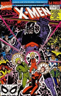X-Men Annual #14 - Days of Future Present Pt 4: You Must Remember This (Issue)