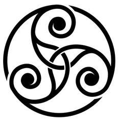 Simbolos Tattoo, Body Art Tattoos, Tribal Tattoos, Triquetra, Tatoos, Celtic Symbols, Celtic Art, Celtic Mythology, Small Tattoos