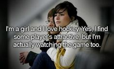 Yup!  I just love the sport.  It's an added bonus that the players are hot.