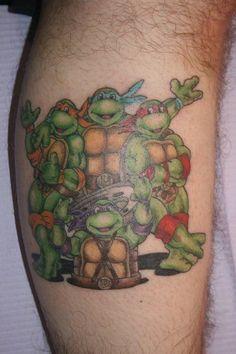 pretty cool TMNT ink | Tattoos