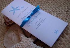 Versatile Tri-Fold Wedding Program