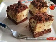 Kopiec Kreta na dużą blachę (ciasto czekoladowe z masą śmietanową i bananami) Tiramisu, Food And Drink, Ethnic Recipes, Crete, Tiramisu Cake
