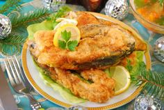 Kapor v pivnom cestíčku Carp Recipes, Fried Fish Recipes, Steaks, Coconut Fish, Shellfish Recipes, Baked Fish, Salmon Burgers, Fries, Food Porn