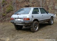 Lifted, Rally Prepped, or Just Plain Dirty Subarus? Lifted Subaru, Lifted Cars, Subaru Justy, Japanese Cars, Retro Futurism, Rally, Offroad, Gadgets, Trucks