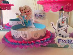 frozen cumpleaños adornos - Buscar con Google