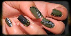 nail-art kaki