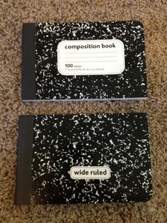 Like The Idea Of Cutting Notebooks In Half   Great For Short Responses And  For Saving On Supplies.