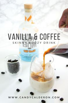 Name a better combo than coffee & vanilla? This guilt-free cocktail is perfect for a weekend meet up with your girls or your S/O!!!  #DrinkBomBom #NilliVanilli #ShakeYourBomBom #Sponsored