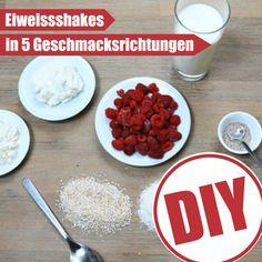 Eiweißshakes selber machen ist ganz einfach >> http://eatsmarter.de/abnehmen/abnehmen-ohne-diaet/eiweissshakes-selber-machen/