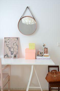 working space, Projektila Office Desk, Corner Desk, Space, Furniture, Blog, Home Decor, Homes, Corner Table, Floor Space