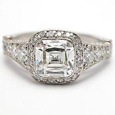 AUTHENTIC TIFFANY & CO. LEGACY DIAMOND ENGAGEMENT RING