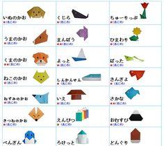 papiroflexia Figuritas de origami