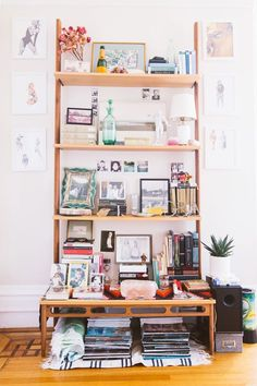 "How To Make Small-Space Living Work For You #refinery29  http://www.refinery29.com/san-francisco-home-tour#slide-2  ""Living in a small space means I have to I edit myself on a regular basis,"" says Steinberg. ""I ask myself what is really important, and what I want to look at every day. It's about finding the crossover between what's important to me and what looks right.""..."