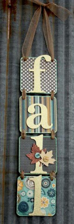 Cute decor idea... I used extra ceramic tile for mine!'
