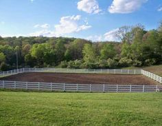 how to build an outdoor arena