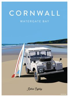 Land Rover Series One Watergate Bay Cornwall