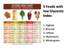 Foods with low #GlycemicIndex to keep you #healthy