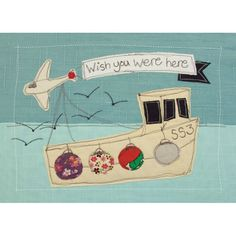 wish you were here - postcard pack of 6