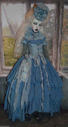 'WINTER BLUES' DRESS FITS DOLLSTOWN SD13 & OTHER BJD'S in Dolls & Bears, Dolls, By Brand, Company, Character, Dollfie & BJDs, Full Size, SD | eBay