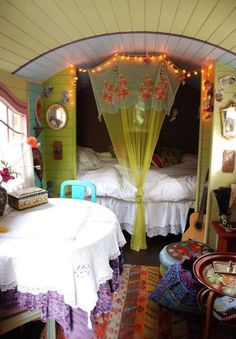 The interior of my camper bus is going to look like this!