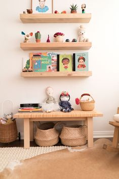 """Shop our founder's nursery - Simple, eco-friendly, and oh so dreamy! """"It wasn't until I began to plan Sofia's nursery that I discovered the overabundance of things people tell you that you """"need."""" Everyone is different, but it's safe to say that there are only a handful of things that you actually need, so my goal with Noble Carriage is to simplify the product choices to help parents design a sustainable, safe and eco-friendly nursery."""" - Jen Long"""