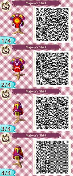 A mask filled with evil and destruction....What more can one ask for....A shirt xD  #acnl #animalcrossing #newleaf #nintendo #3DS