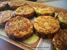 Recetario Spanglish para mis hijos: Zucchini tots. Bocaditos de zucchini o calabacín o zapallitos