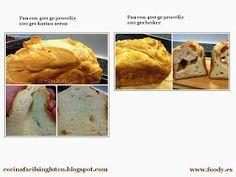 """""""Blog sobre recetas sin gluten y para celíacos"""""""