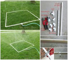 Fab Art DIY PVC Gardening Ideas and Projects | www.FabArtDIY.com           #gardening, #PVC, #Planter, #diy