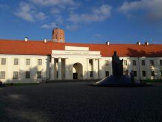 Vilnius, Lithuania. Lietuvos nacionalinis dramos teatras