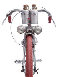 Mecadural Pélissier, ca. 1950, Long-distance touring bicycle by Mercier, France (detail)