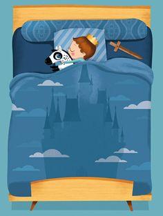 sweet dreams Марк открытка