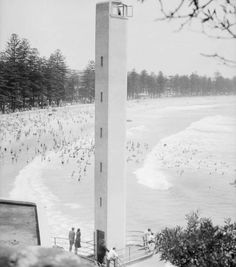 Shark Tower at Manly,in the Northern Beaches region of Sydney in 🌹 Old Photos, New Zealand, Beaches, Shark, Sydney, Past, Buildings, Pride, Tower