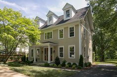 Modern Colonial traditional-exterior