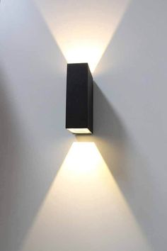 97 Choices Unique Elegant Lighting LED Outdoor Wall Sconce For Modern Exterior House Designs 6 Black Outdoor Wall Lights, Outdoor Wall Sconce, Outdoor Walls, Outdoor Lighting, Lighting Ideas, Landscape Lighting, Modern Outdoor Lights, Outdoor House Lights, Outside Lights On House