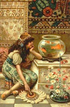 Goldfish in Painting
