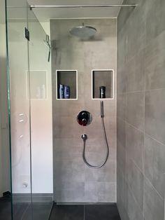Begehbare Dusche für kleines Bad