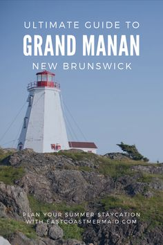 Grand Manan Island is only accessible by an amazing 1.5-hour car-ferry ride from Blacks Harbour, New Brunswick. In this post we cover all the things you need to know to plan your ultimate summer staycation in Grand Manan Island, New Brunswick.   #TravelNewBrunswick #NewBrunswick #AtlanticCanada East Coast Canada, Canadian Travel, Atlantic Canada, New Brunswick, Staycation, Plan Your Trip, Long Weekend, Cool Places To Visit, Travel Guides